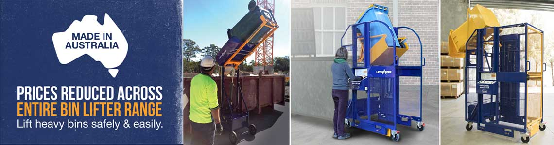 Clean up Australia with Liftmaster bin lifters