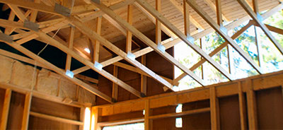 Moving timber trusses