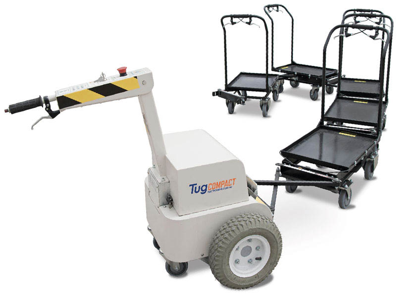 Electrodrive's Follow Me Trolley