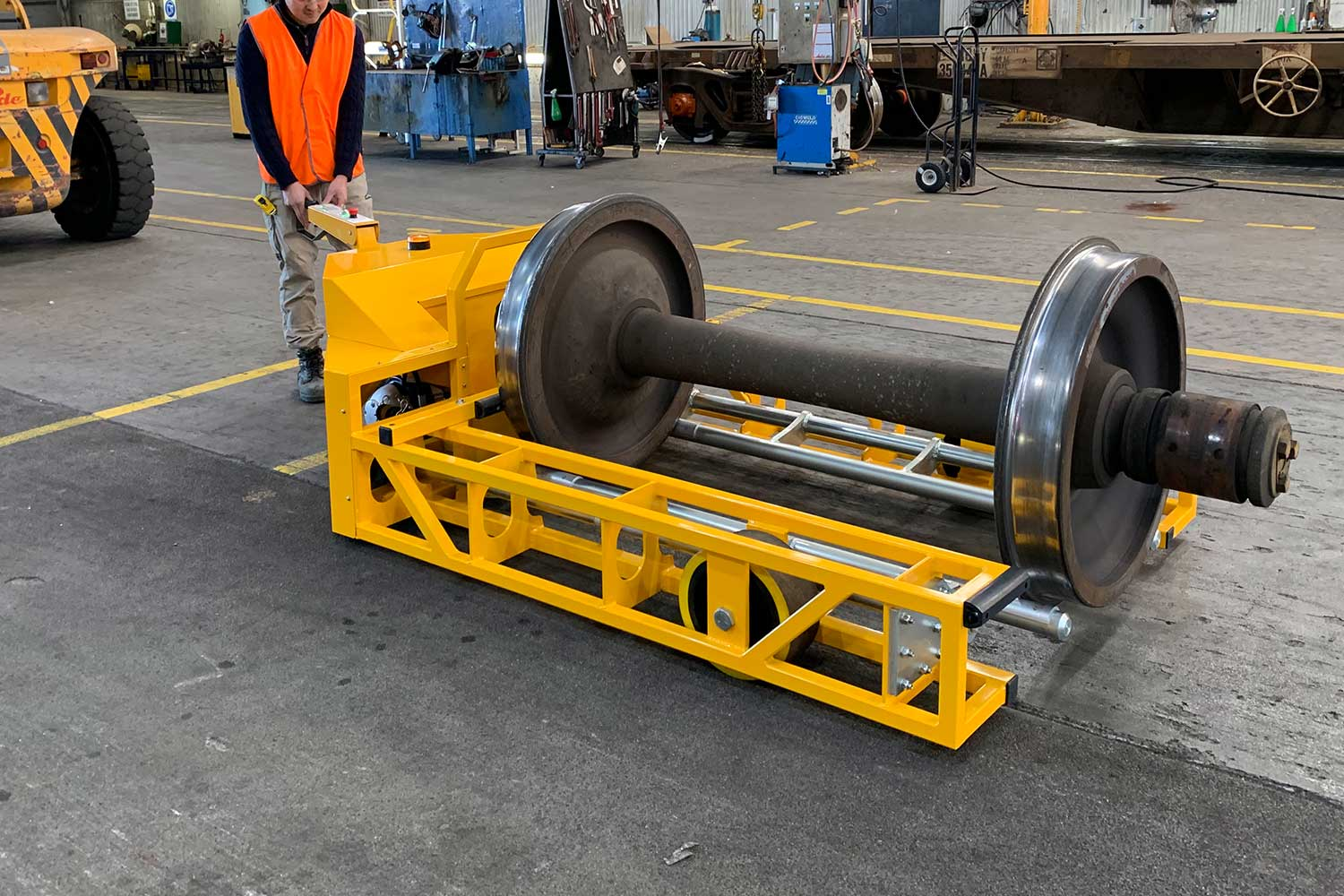 Electrodrive's Wheelset Mover